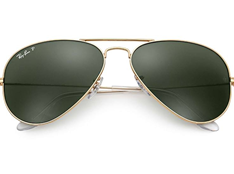 Ray Ban Aviator Classic RB3025-001/58 62MM polarized